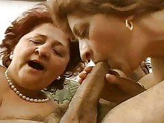 Team a few Grandmas Have sexual intercourse 30'something Hot Hunk.