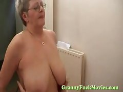 Granny snatch screwing