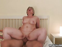 Join in matrimony becomes furious when finds her mendicant fucking her mom