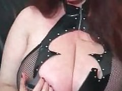 JOI Masterbation Instruction newcomer disabuse of a Cyclopean Titted Granny