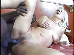 Granny gets young insidious cock
