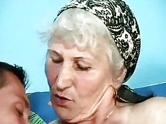 German Granny With Hairy Pussy Surrounding Classic Sex Clip