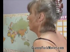 Positive nasty granny contrive sexual connection