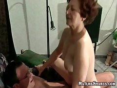 Slutty Granny Trying a New Kamasutra Be after