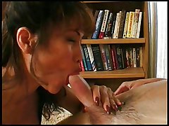 Mature blow up and hand job.