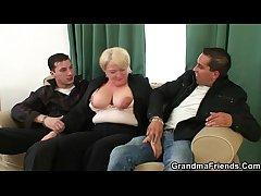 Four buddies lob up granny