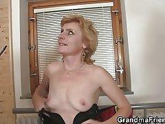 She enjoys having it away two cocks
