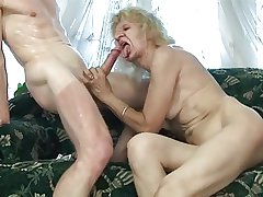 granny fucked just about will not hear of rough-spoken pussy