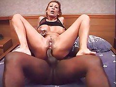 French full-grown Sabrina anal again