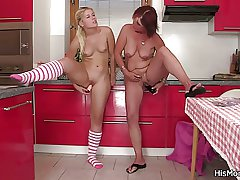 Nemesis mother added to teen toying at get under one's pantry