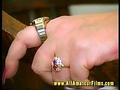 Horny GILF fucked on video