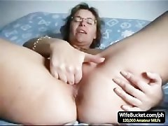Mature tie the knot finger fuck