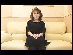 50yr grey Hairy Japanese Granny Creamed (Uncensored)