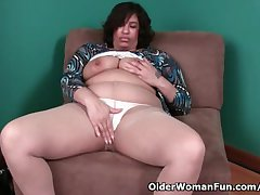 51 year old granny with mizzle off nipples and dripping pussy
