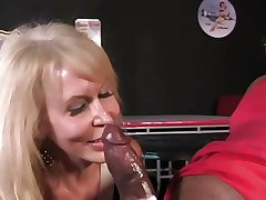 sexy granny gets fucked by BBC