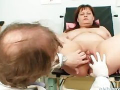 Beamy breast mom real gyno check not far from