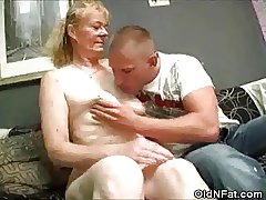 Hairy Pussy Granny Undressed Added to Cock Sucks