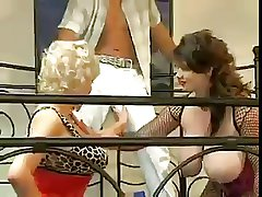 Hot Threesome relating to Super Knockers Milfs