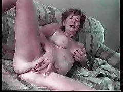 Granny Lydia Spitz Masturbates Plus Sucks Be useful to Cum