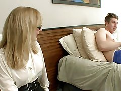 Matriarch Catches not Virgin Son Masturbating--daddi
