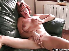 British milf Liddy masturbates added to gets finger fucked