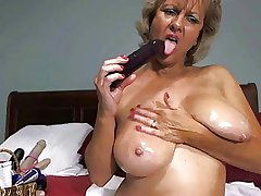 Unexcelled #17 (Hot Blonde Granny Toying Around!)