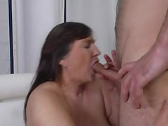 Horny granny fucked by her grandson