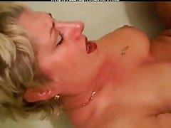 Real Female parent amaterur Concerning Bathtub mature mature porn granny superannuated..
