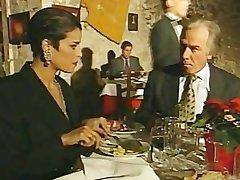 Elegant Italian Mature cheating husband unaffected by tearoom girls' room