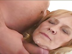 Horny Granny Adriana loves to fuck!