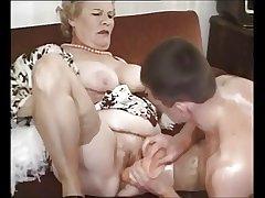 Aged Mature Granny Fucked