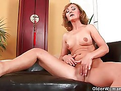 Over 50 milf enjoys will not hear of fingers and his load of shit in will not hear of..