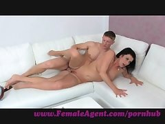 FemaleAgent. Double cumshot astonish be advisable for MILF