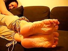 Mature French Tolerant Sexy Wrinkled Soles