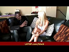 Interracial hard sex Gung-ho MILF belle gets hard big black load of shit 15