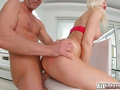 Ani Black Fox has hot poof sex approximately older unsubtle