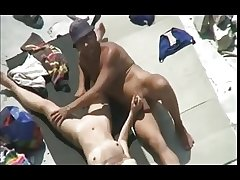 Nude Beach - Mature Play & Fuck gone bust