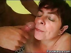 Chubby Be useful to age Mollycoddle Fucked And Gets A Mouthful Be useful to Cum