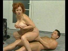 Busty redhead mature fucked