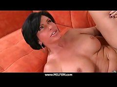 Super hot MILF takes this cock for a ride 29