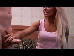 CFNM teen blows her mature studs abiding dick in her hotel