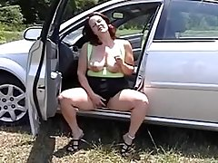 X-rated of age woman giving a blow job