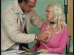 Busty German Adult Fucking on every side Office