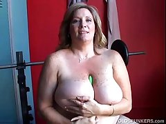 Mature BBW fat tits