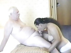 Indian Unfocused having mating with full-grown man