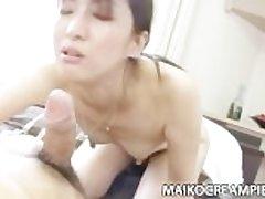 Japanese MILF Miki Sugimoto Horny Copulation