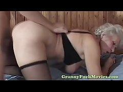 65yo granny fucked doggystyle
