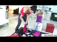 Amazing Copulation Scene With Hot Lesbian Milfs (Brianna Rafter & Kristen..