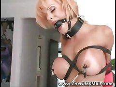 Delay My MILF - Tanned busty milf BDSM personify
