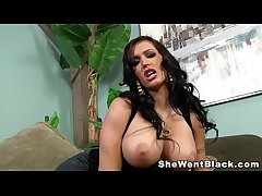 Big Tit MILF Jenna Presley fucked and facialed by a big black detect